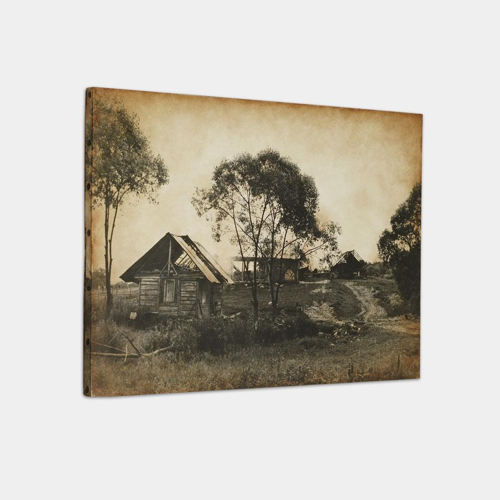 ジプシーの小屋の写真 (斜め)